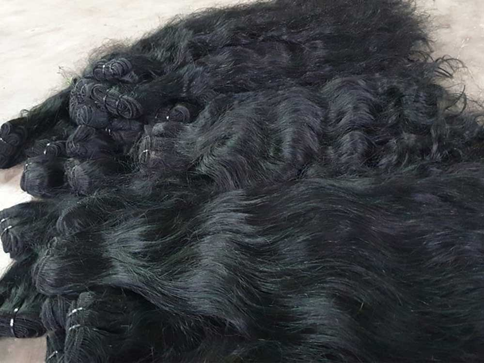 raw indian temple hair wholesale